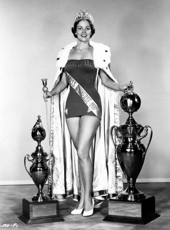 Miriam Stevenson Miss Universe 1954 photo